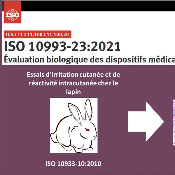 Biocompatibilité des dispositifs médicaux: analyse de la nouvelle norme ISO 10993-23:2021